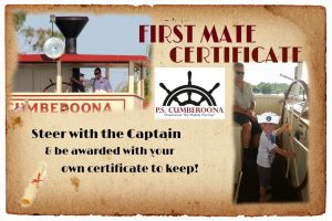 Kids, Get your First Mate Certificate